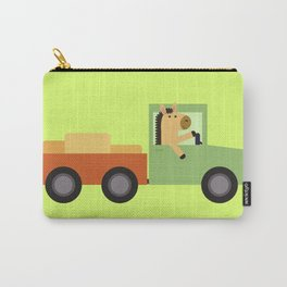 Horse on Truck Carry-All Pouch