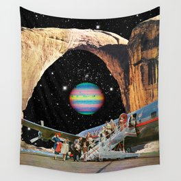 Destined to Destination Wall Tapestry
