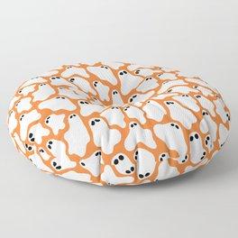 Ghosties (Orange) Floor Pillow