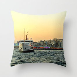 City of Mystery (2) Throw Pillow
