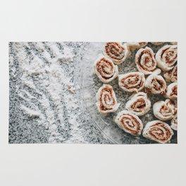 Cinnamon Rolls Rug