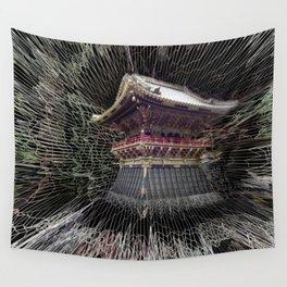 Nikko Shrine Wall Tapestry