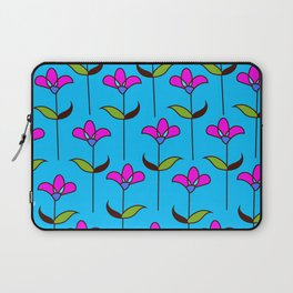 Genevieve - Blue and Pink Laptop Sleeve