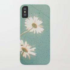 Three Daisies iPhone X Slim Case