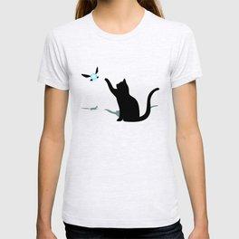 Cat and Navi T-shirt
