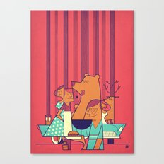 Barbecue Canvas Print