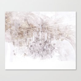Palace Chandelier 1 Canvas Print
