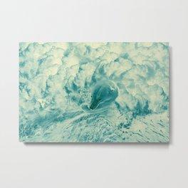 Bear drowning in dreams Metal Print