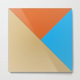 Horizon: Zero Dawn Aloy Flat Three Color Design Metal Print
