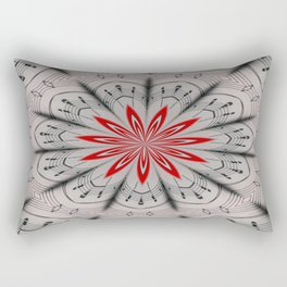 Our Tune Abstract Rectangular Pillow