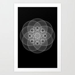 Zachariel Art Print