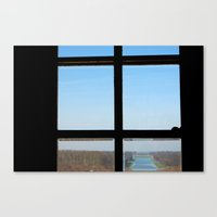 clear Canvas Prints featuring Clear by the insight city