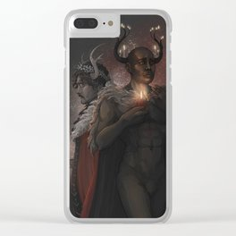 Winter Kings Clear iPhone Case
