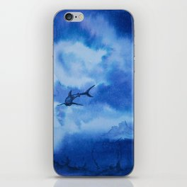 Ink sharks iPhone Skin