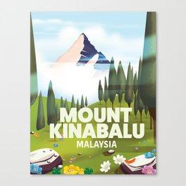Mount Kinabalu Malaysia Canvas Print