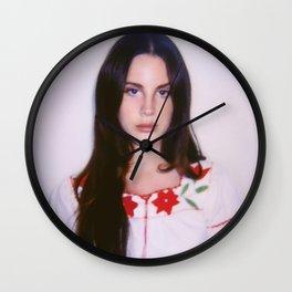 Lana D Rey Wall Clock