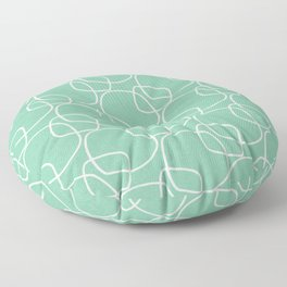 Bubble Pattern Mint #homedecor Floor Pillow