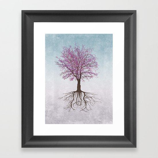 It Grows on Trees Framed Art Print