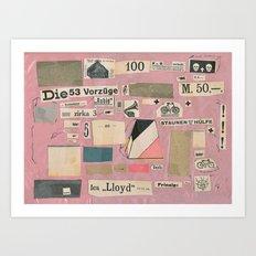 Die 53 Vorzüge Art Print