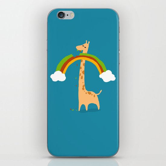 Taste of Happiness Rainbow iPhone & iPod Skin