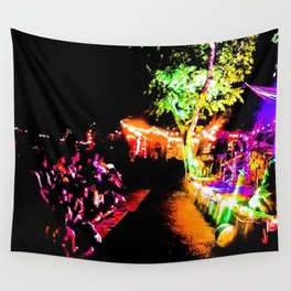 Rock Show Wall Tapestry