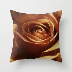 Dirty Rose Throw Pillow