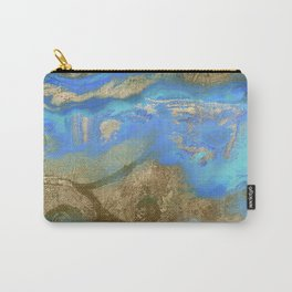 Cobalt Sea Carry-All Pouch
