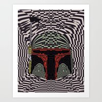 Boba Effect Art Print