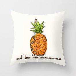 My Pineapple home Throw Pillow