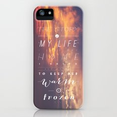 One Direction: Story Of My Life Slim Case iPhone (5, 5s)