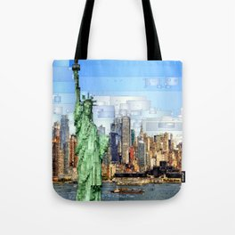 City of New York - Statue of Liberty Tote Bag