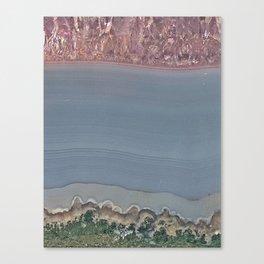 Amethyst slice Canvas Print