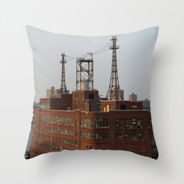 Brick Behemoth Throw Pillow