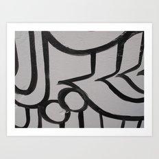 Linework 3 Art Print