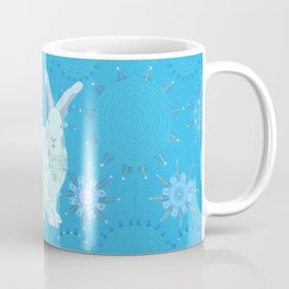 Iced Touchy Bunny Coffee Mug