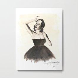Black HERstory: Dorothy v2 Metal Print