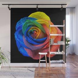 Unusual Rose Wall Mural