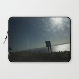Bus window coast view Laptop Sleeve