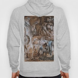 Alexander The Great Demonstrating His Trust In Philip - Digital Remastered Edition Hoody