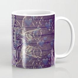 Indigo Hamza Design Coffee Mug
