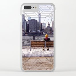 New York Mandala Clear iPhone Case