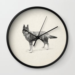 Ghost Dog - Coco Wall Clock