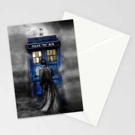 Halloween 10th Doctor lost in the mist Stationery Cards