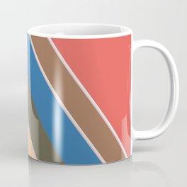 Oblique lines, diagonal Coffee Mug