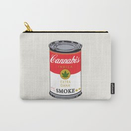 Campbell's Soup (Cannabis Indica) Carry-All Pouch