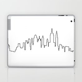 New York City Skyline Silhouette Laptop & iPad Skin