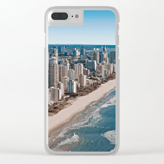 Gold Coast - Australia Clear iPhone Case