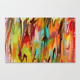 Abstract vivacious Canvas Print