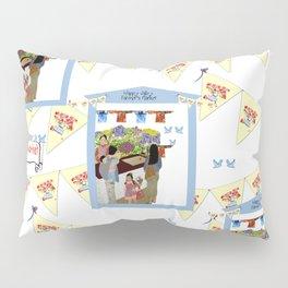 Happy Valley Farmer's Market Pillow Sham