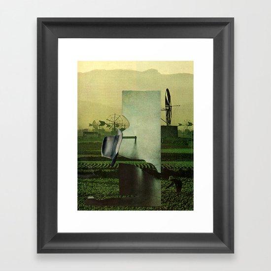 Work machine Framed Art Print